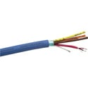 Gepco GA61804GFC Gep-Flex Multipair 22 AWG Mic or Line Level Balanced Analog Audio Cable 4 Pair 1000 Foot Roll
