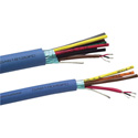 Gepco GA61808GFC Gep-Flex Multipair 22 AWG Mic or Line Level Balanced Analog Audio Cable 8 Pair Per Foot