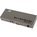Gefen EXT-DVIKVM-241 DVI Switcher USB 2.0 with Audio