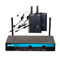 Gemini UHF-216HL Dual Headset/Lav Wireless System