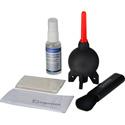 Giottos CL 1001 Optical Liquid / Brush / Micro-Fiber / Rocket-Air Cleaning Kit