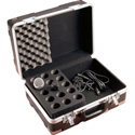 Gator GM-15-TSA Microphone Case for 15 Mics