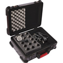 Gator GM-30-TSA ATA Molded Case w/ Drops for 30 Mics - TSA Latches