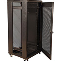 Gator GR-FS4B1823TBB 18U 23 Inch Deep Rack w/Steel Door - Knock Down