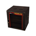 Gator GR-WF4B0917TB 9U 17 Inch Deep Rack with Steel Door