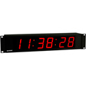 Imagine DTD-A19B2 2.3-Inch RED LED Digit Digital Time Display 2RU