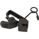 Horizontal clip 10pk for  Sanken COS-11 Lavalier Mic in Black