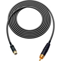 Audio or HD Video RCA M-F Extension Cable 1.5 Ft