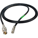 Connectronics High Density HD-BNC Male to Standard BNC Female HD-SDI Cable with Belden 1694A RG6 1 Foot