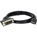HDMI to DVI-D Cable - 6 Foot
