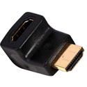 TecNec HDMI Right Angle Horizontal Flat Bottom Adapter