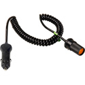 Connectronics Heavy Duty  Cig Plug To Cig Jack High Power Cable 5Ft Coiled