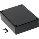 Hammond 1591GSBK 4.8 x 3.7 x 1.2 Inch Project Box; Black