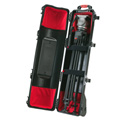 HPRC 6400WTRI Black Wheeled hard case for tripods int kit