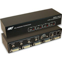 Hall Research DVS-4A DVI AV Switcher (4 Port)