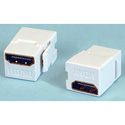 HDMI Female-Female Keystone Coupler - White