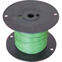 NTE Electronics 24 AWG 300V Stranded Hook-Up Wire 100 Foot Spool Green