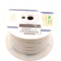 NTE Electronics 24 AWG 300V Stranded Hook-Up Wire 100 Foot Spool White