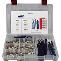 ICM F-Conn DB Starter Kit With Compression Tool/Stripper/Fit Tool and Connectors