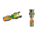 ICM FS1BNC 24-26AWG 1PC BNC Connector (Orange)