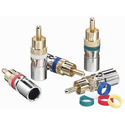Ideal 89-580 OmniCONN RG-6 Compression RCA Connector Jar of 35