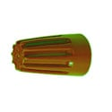 Ideal 30-073 #22-14 600V Orange Wire-Nuts (Box of 100)