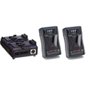 IDX E922 E-HL9 Stack Pack w/Two Batteries And Charger