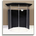ClearSonic IsoPac F Medium Acoustic Isolation Booth -Dark Gray