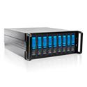 iStar DAGE409U40DEBL-PM 4U 9-bay eSATA Port Multiplier Trayless Hotswap