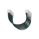 Middle Atlantic J-72X6 72 Inch J Series Jumper Cable 6-Pack