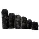 K-Tek Z-FSO-XS Fuzzy Slip-On Windscreen (Interior Length 3.5 Inches)