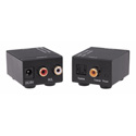 KanexPro AUD2ACV Digital-to-Analog Audio Converter - S/PDIF or Toslink to Stereo Audio