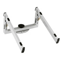 K&M 18868 Laptop Rest for Spider Pro Keyboard Stands - Silver