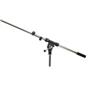 K&M Telescoping  2-Piece 27.5 Boom Arm Mic Ext.-Black