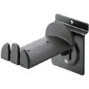 K&M 44195 Headphone Holder - Slat Wall Mount