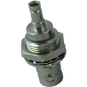 Kings 206G-034-00003N DIN-Jack/BNC-Jack Bulkhead Isolated - Nickel