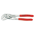 Knipex 86 03 150 - Pliers/Wrench in Single Tool - Nickel Plated - Plastic Coated Handles - 150mm