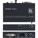 Kramer Tools FC-49 DVI with Digital or Analog Audio to HDMI Converter & Embedder
