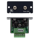 Kramer WA-3N Dual 3.5mm Stereo Audio Wall Plate Insert (Gray)