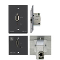 Kramer WP-110 VGA Over Cat5 Active Wall Plate (USA/ Gray)
