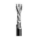 Canare L-4E5C Mini-Star-Quad Microphone Cable by the Foot - Black