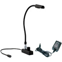 Littlite L-8/6 Low Intensity TNC Detachable Gooseneck w/Chassis and Dimmer -6in