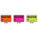 1x1.5 Warning Label 1000 Pk Orange (Master #)