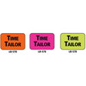 1x1.5 Warning Label 1000 Pk Orange (Time Tailor)