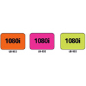 1x1.5 Warning Label 1000 Pk Orange (1080i)