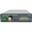 Link LEI-589 SD SDI Closed Caption Decoder - 2 Field Decoder