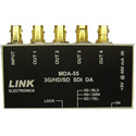Link MDA-55 1 x 4 3G/HD/SD SDI or ASI Distribution Amplifier