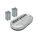 Lenmar PRO78 8-pack 2000mAh AA Ni-MH/Ni-Cd Rechargeable Batteries & Charger Kit