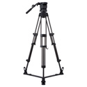 Libec RS-350R Professional 2-Stage Aluminum Tripod System w/ Floor Level Spreade