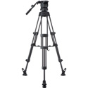 Libec RS-450RM Professional 2-Stage Aluminum Tripod System w/ Mid Level Spreader